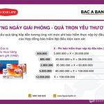 BAC A BANK và Dai-ichi tặng quà hấp dẫn cho khách hàng tham gia bảo hiểm