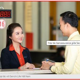 Hợp tác bancassurance giữa Sacombank và Dai-ichi Life Việt Nam: ngày càng bứt phá