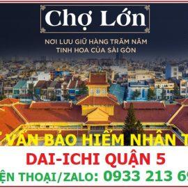 Tôi ở đường Hồng Bàng, Quận 5 thì mua bảo hiểm nhân thọ Dai-ichi ở đâu?