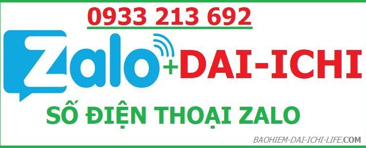 Zalo Dai ichi life Việt Nam tư vấn bảo hiểm nhân thọ là số điện thoại nào?