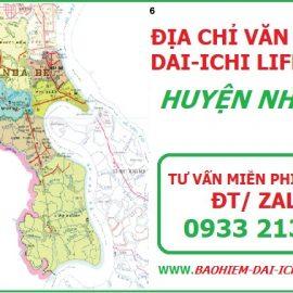 Tôi ở Nhà Bè thì mua bảo hiểm nhân thọ Dai-ichi địa chỉ ở đâu?
