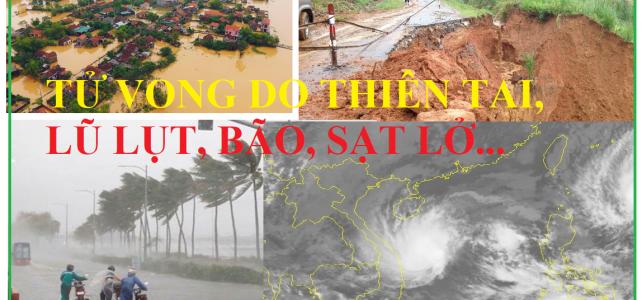 Tử vong do thiên tai bão lụt, lũ, sạt lở có được bồi thường bảo hiểm nhân thọ ?
