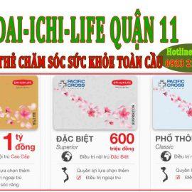 Quận 11 mua BHNT chăm sóc sức khỏe toàn cầu Dai-ichi ở đâu?